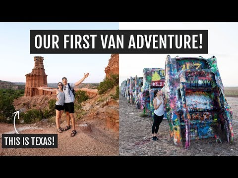 Our First Van Life Adventure: Palo Duro Canyon + Amarillo, TX (food + Coffee!)