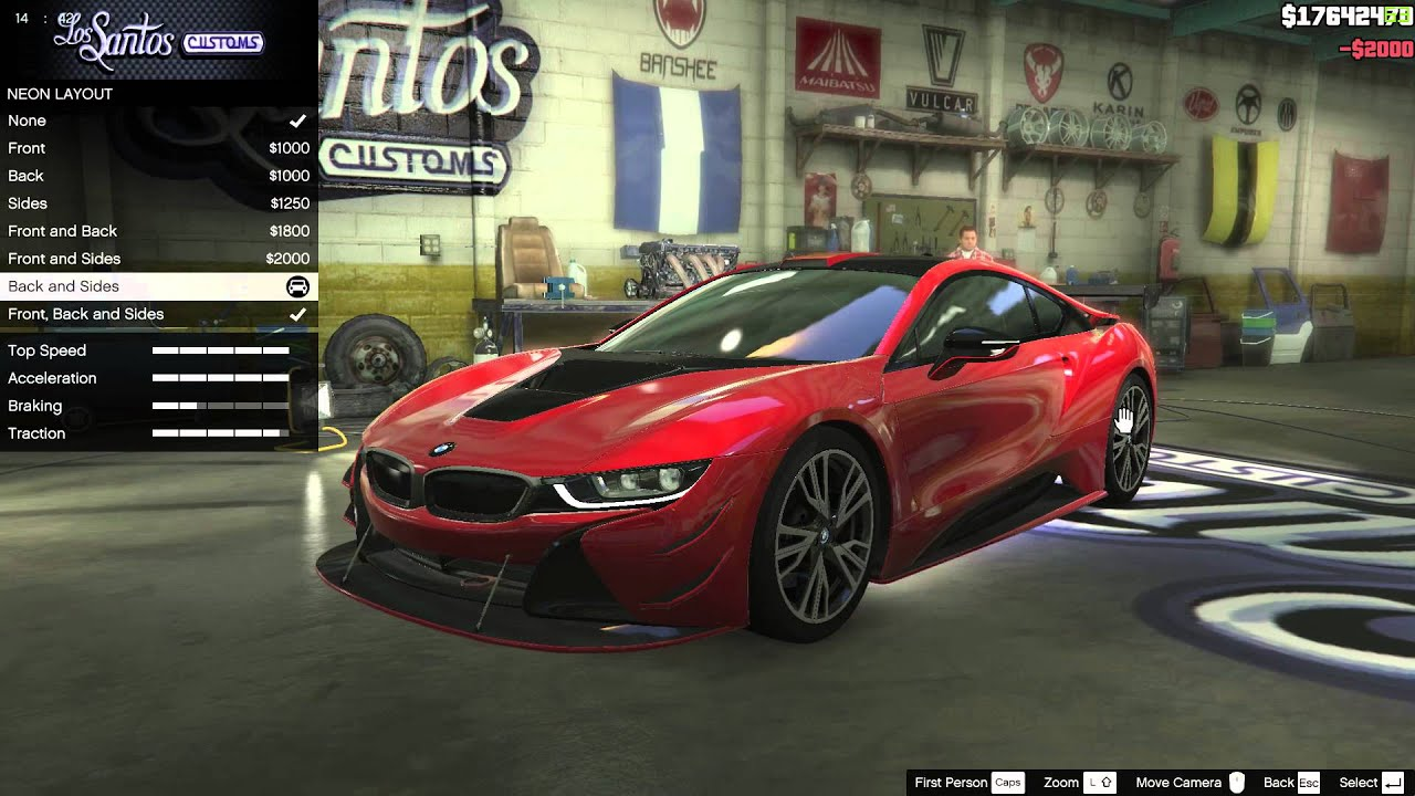 2015 Bmw I8 Gta 5 Car Mods Grand Theft Auto 5 Pc Youtube