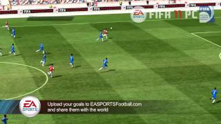 FIFA 11 PC Gameplay Footage