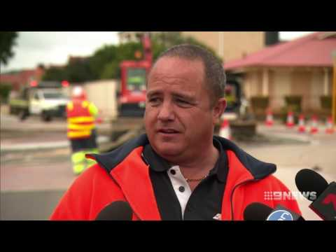 Wanneroo Sinkhole | 9 News Perth