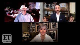 Jane Fonda, Norman Lear React To Golden Globe Honours