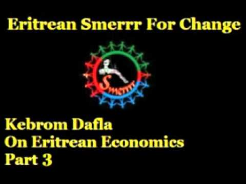 Kebrom Dafla - Eritrean State Of The Economy -  Part 3
