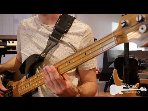 ABBA - Dancing Queen (Bass Play Along + Transcription)