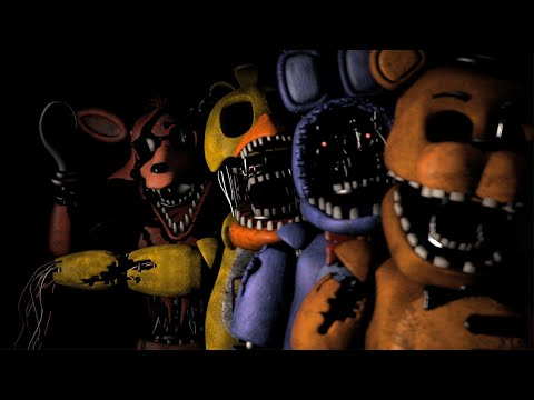 FNAF Withered Voice Lines Animated
