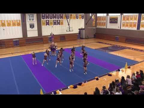 2018 Elmira College Cheerleading Pre-Nationals Performance