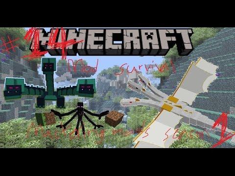 Minecraft Mastering Mods Modded Survival (1): Master Madness (14) Organic farming!!!