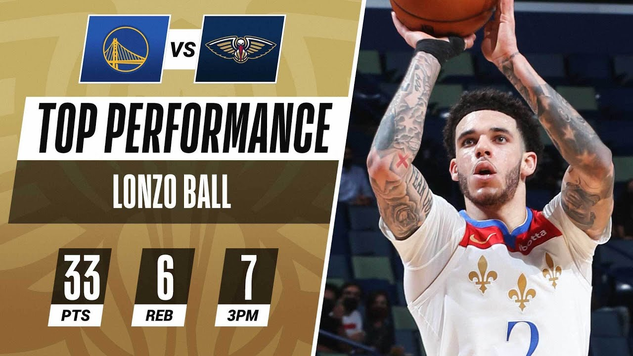 Lonzo Comes Up CLUTCH in Home W! 😤