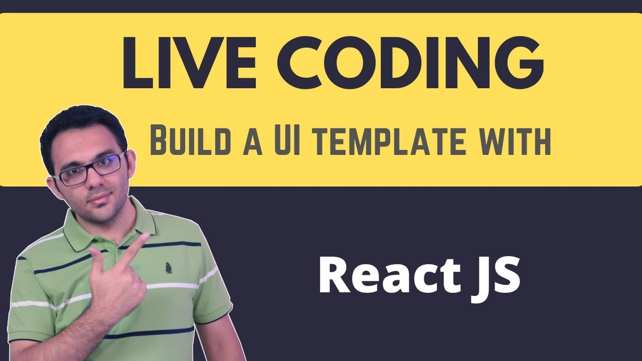 Let's do some live coding with React.js