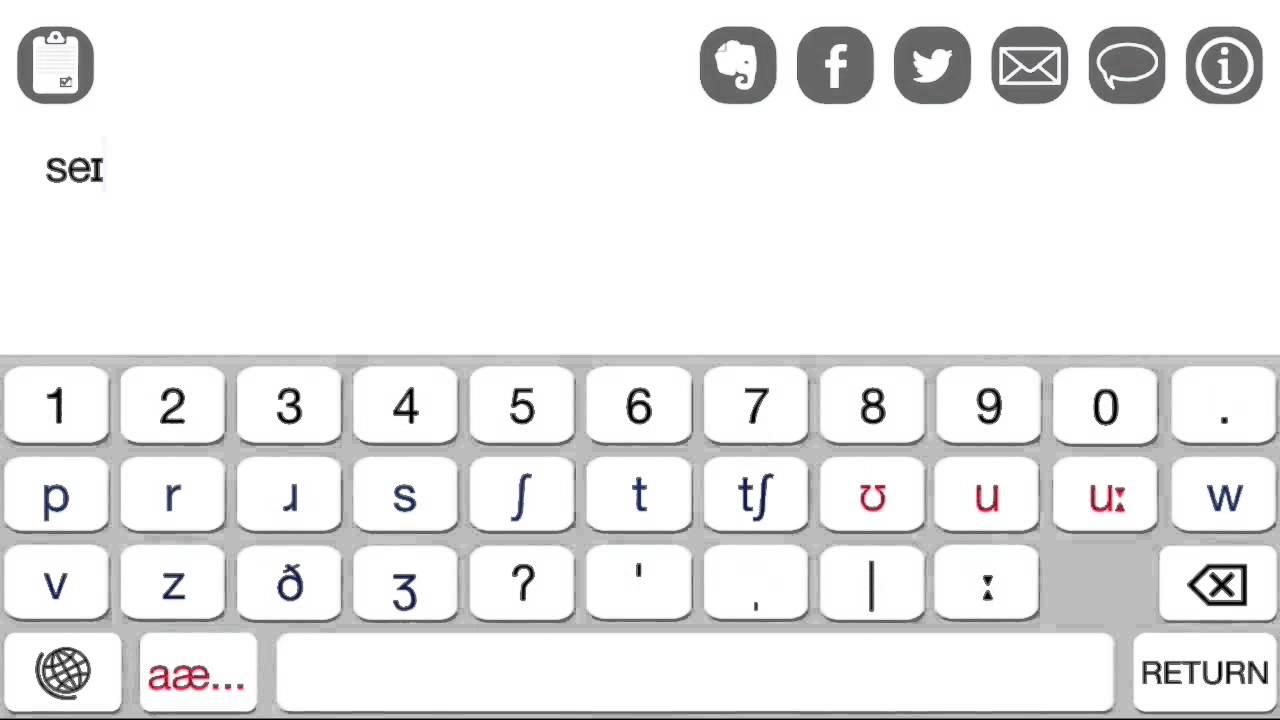 English phonetic keyboard with ipa symbols youtube english phonetic keyboard with ipa symbols biocorpaavc Images