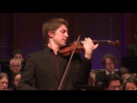 Michael Foyle plays Szymanowski Violin Concerto No.1-with Rotterdam Philharmonic Orchestra/R. Payare