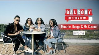 (1/4) Loot Love Talks To Moozlie, Ms Cosmo & Rouge About Their Friendship & Getting Into Hip Hop