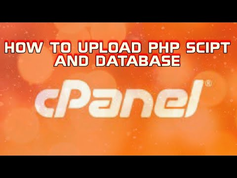 HOW TO Upload Php Script And Database To Hosting Step By Step | HOW TO Upload PHP WEBSITE On Server