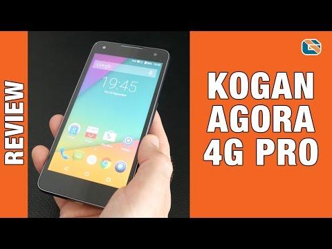 Kogan Agora 4G Pro Smartphone Review inc Unboxing