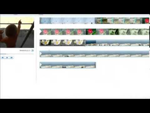 Монтаж видео в Киностудии Windows Movie Maker