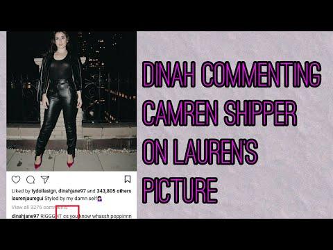 Dinah commenting camren shippers on Lauren&39;s picturenov 24
