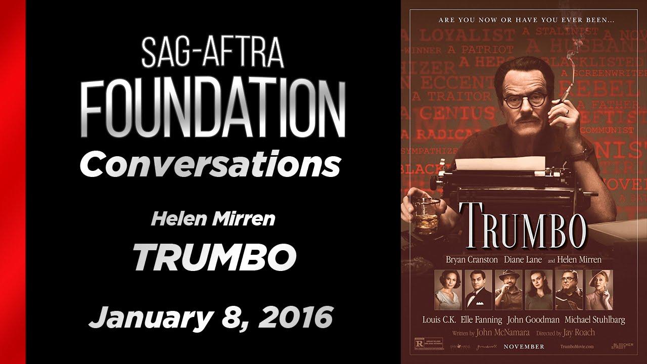 Conversations with Helen Mirren of TRUMBO