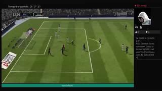 Jugando Fifa 18 con mi primo