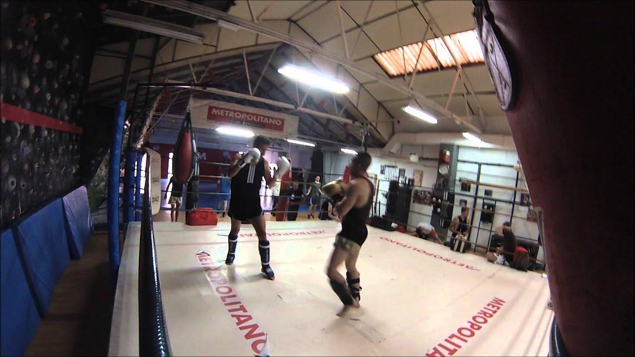 guanteo kickboxing xos castro alberto kowes gimnasio