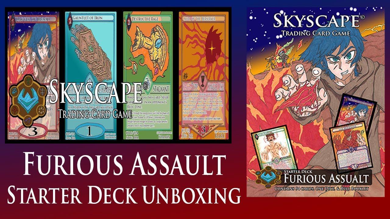 Skyscape Starter Deck: Furious Assault