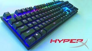 МЕХАНИКА ДЛЯ ИГР - Клавиатура HyperX Alloy FPS RGB