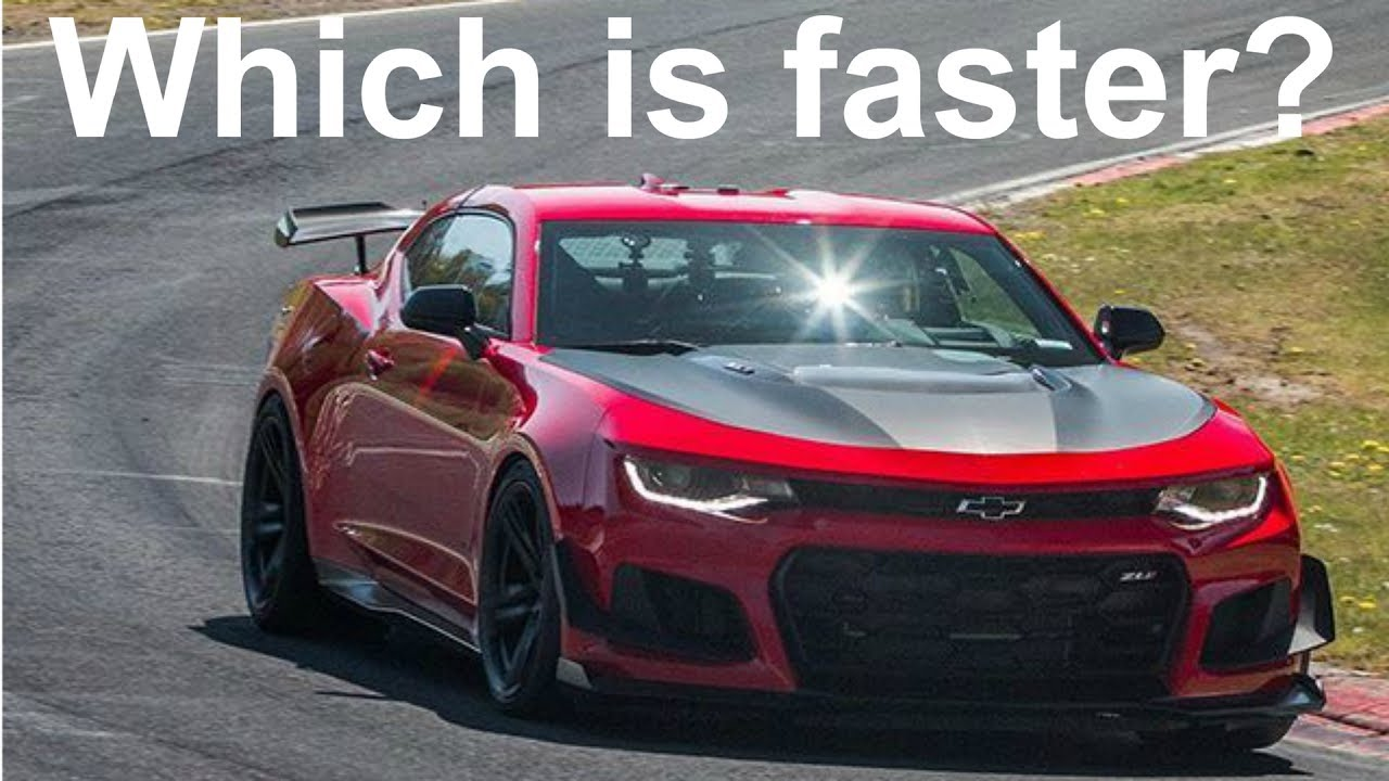 2017 Camaro Zl1 Vs 2018 Camaro Zl1 1le 1 Youtube