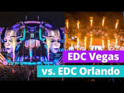 EDC ORLANDO vs. EDC LAS VEGAS | Which one is BETTER?