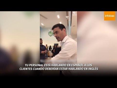 Piden la inhabilitación de un abogado neoyorquino que increpó a empleados por hablar en español