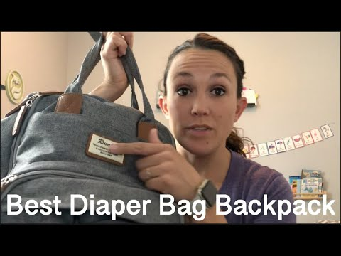 Diaper Bag Backpack Review and Comparison (Best Diaper bag ever!)