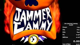Um Jammer Lammy Speedrun (21:23) [World Record]
