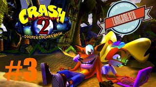 Zagrajmy w Crash Bandicoot 2 - #3 Drażniące rośliny - PSX