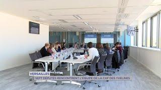 Yvelines | Versailles : sept députés rencontrent l'équipe de la CAF des Yvelines