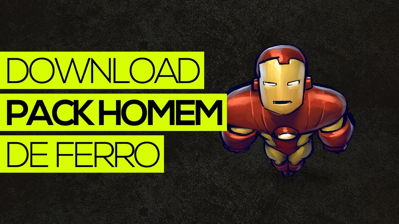 Download Capa Youtube E Wallpaper Do Homem De Ferro Youtube