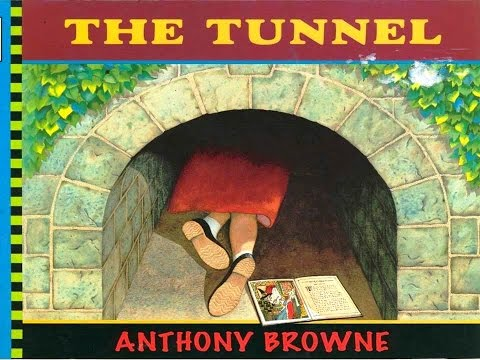THE TUNNEL BOOK KIDS READING  WITH ENGLISH SUBTITLES