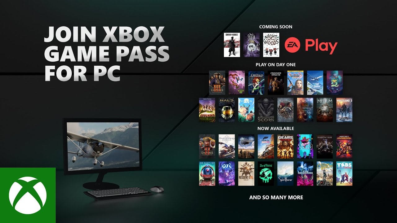 Welcome to Xbox Game Pass for PC