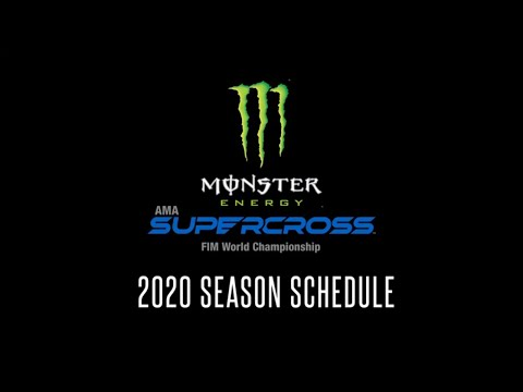 2020 Supercross Racing Schedule Announced!