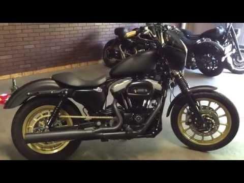 Harley Sportster  Flat Black