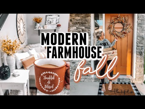 MODERN FARMHOUSE // FALL HOUSE TOUR 2019