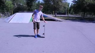Обучение трюку 360 flip. #KOROVIN_SCHOOL
