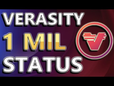Becoming A Millionaire With VERASITY ! | Price Targets & How Much To Have