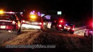 3/15/2012 Saint Cloud, MN Police Chase Crash