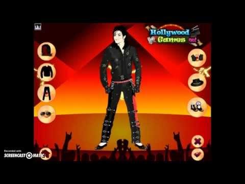 Michael Jackson Dress Up Game Online (Bad)