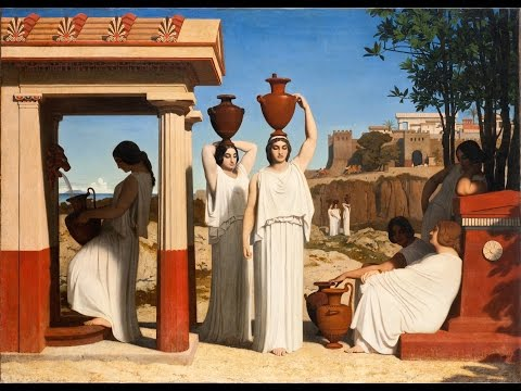 η Κρηνη (Greek Spring) Ancient Lyre Relaxation Music