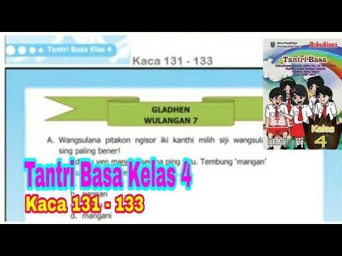 Gladhen Wulangan 7 Tantri Basa Kelas 4 Hal 131 133 Bahasa Jawa Kelas 4 Youtube
