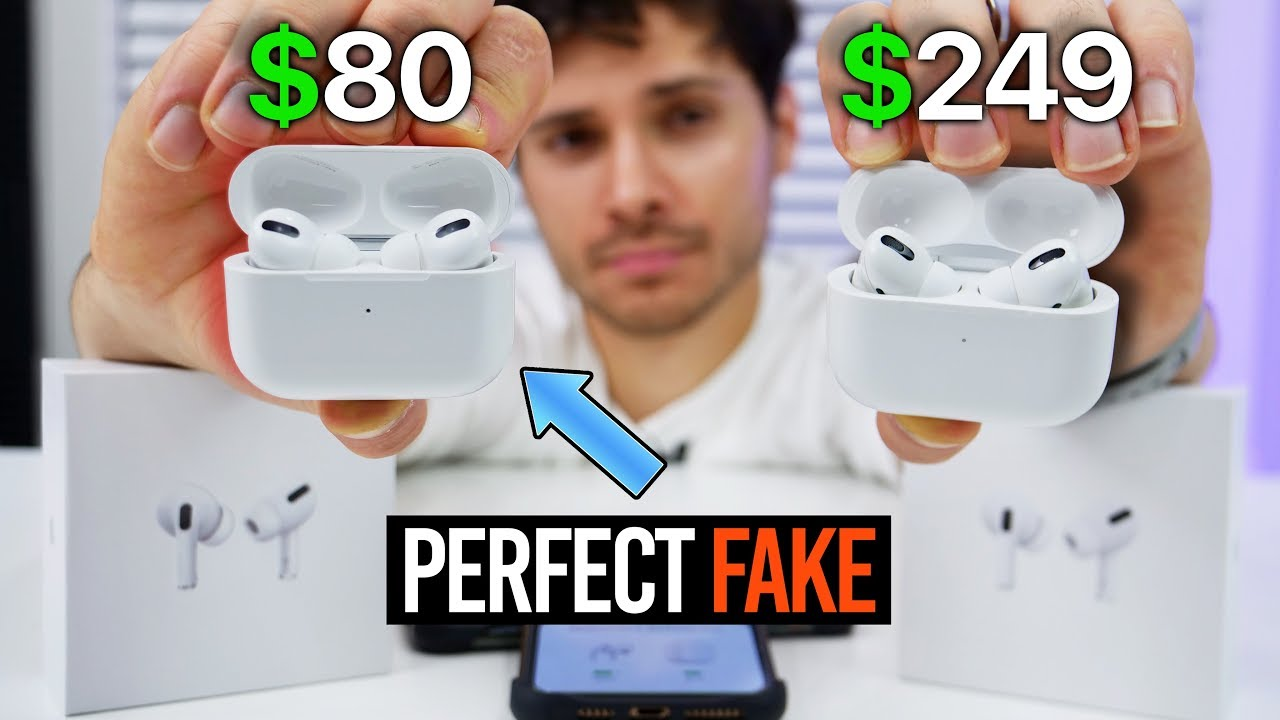 real airpods pro vs fake airpods pro