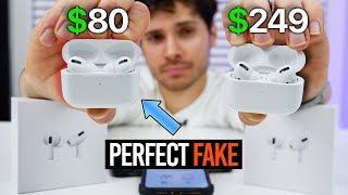 Download The PERFECT Fake AirPods Pro Are Here! $80 Mp3 and Videos
