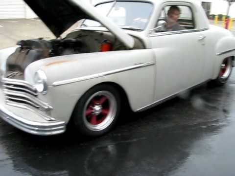 1949 Plymouth Business Coupe W Flathead 6 Hot Rat Rod