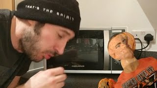 VIDEO GOES WRONG!!!! MICROWAVING WWE MATTEL FIGURES!!! (DO NOT TRY THIS AT HOME... SERIOUSLY!!!)