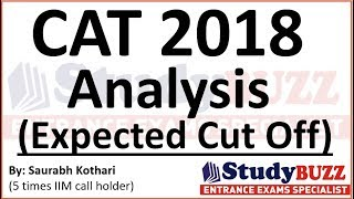 CAT 2018 analysis | Expected cut off