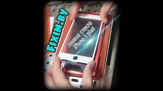 iPhone 8 plus. Почему важно менять стекло на iPhone 8 plus, а не экран.