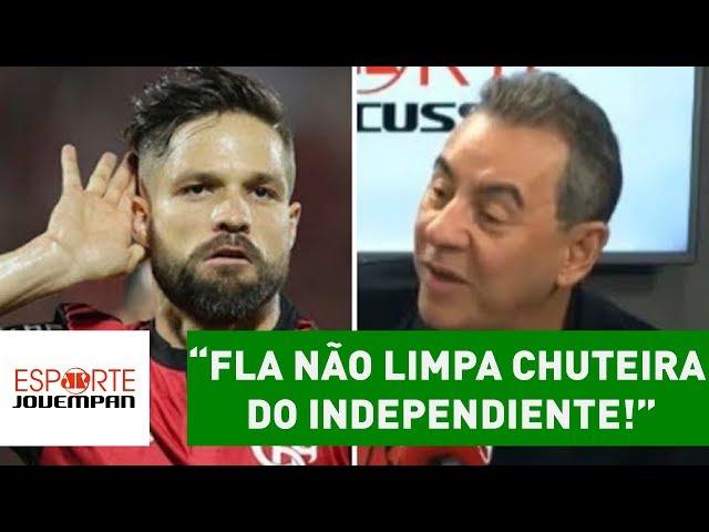 """""""Internacionalmente, FLA não limpa chuteira do Independiente!"""""""